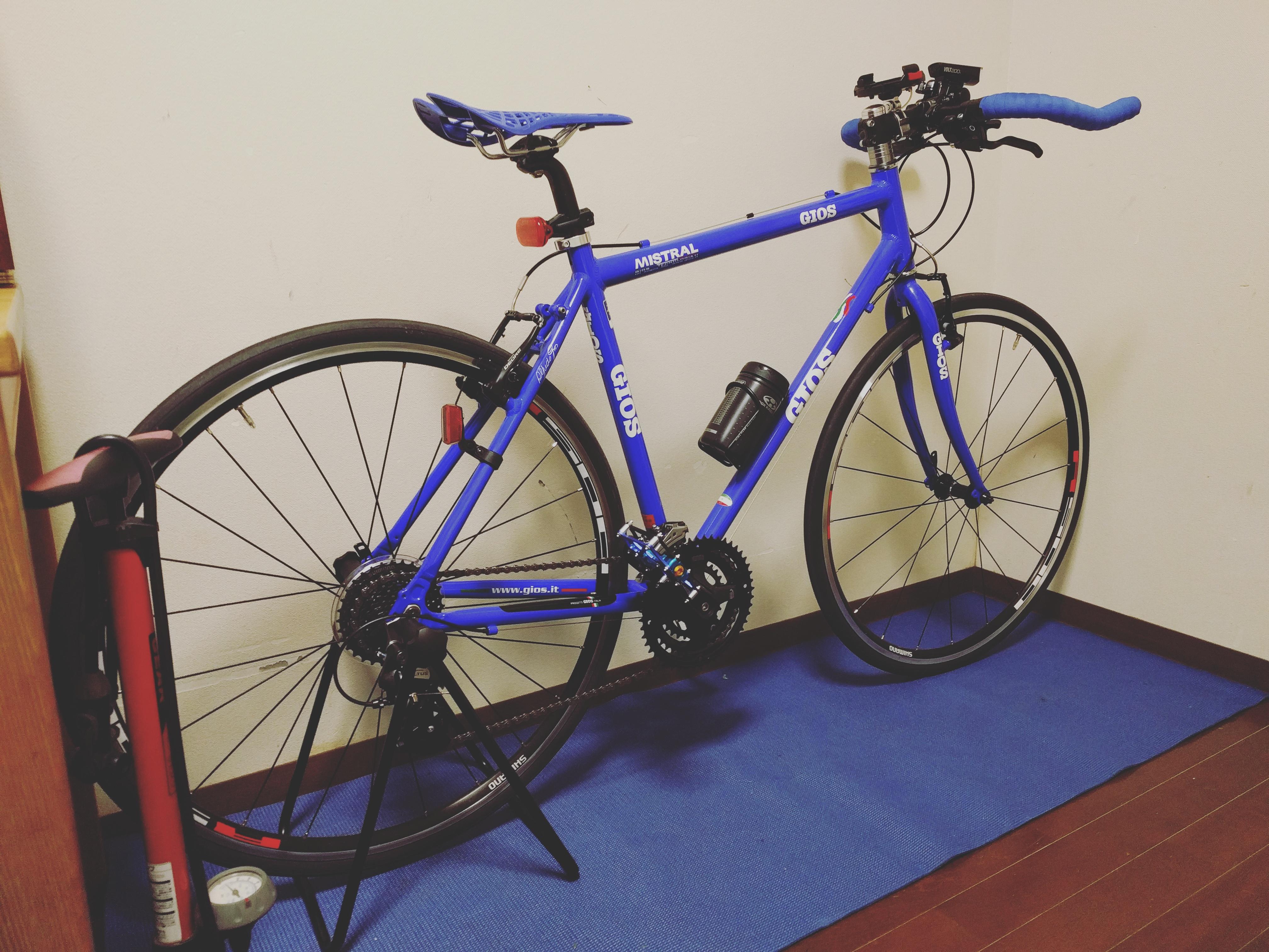 クロスバイクをGIOS ミストラルに買い替えました!