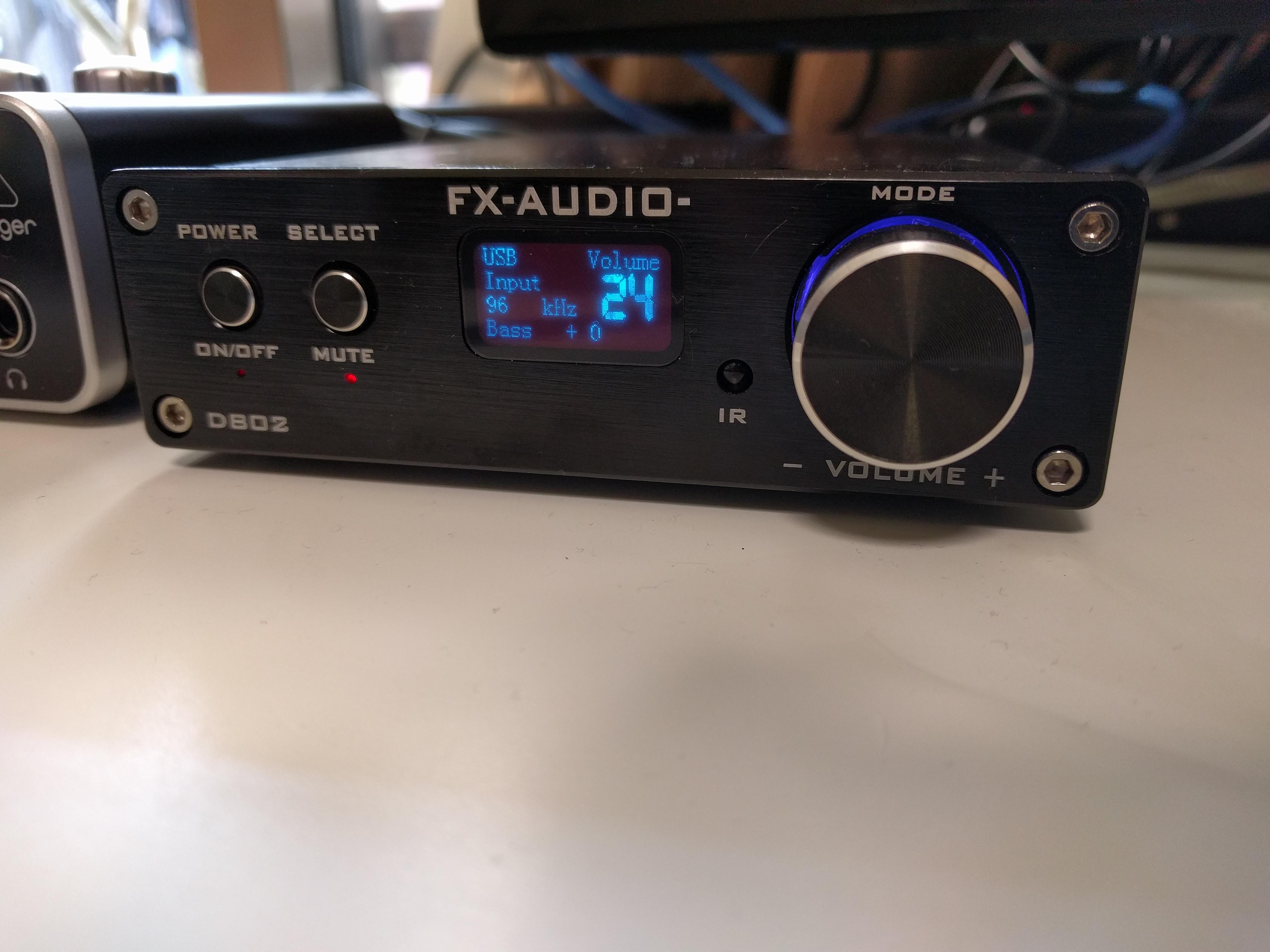 高品質中華デジタルアンプ FX AUDIO D802はパワフルできれいな音