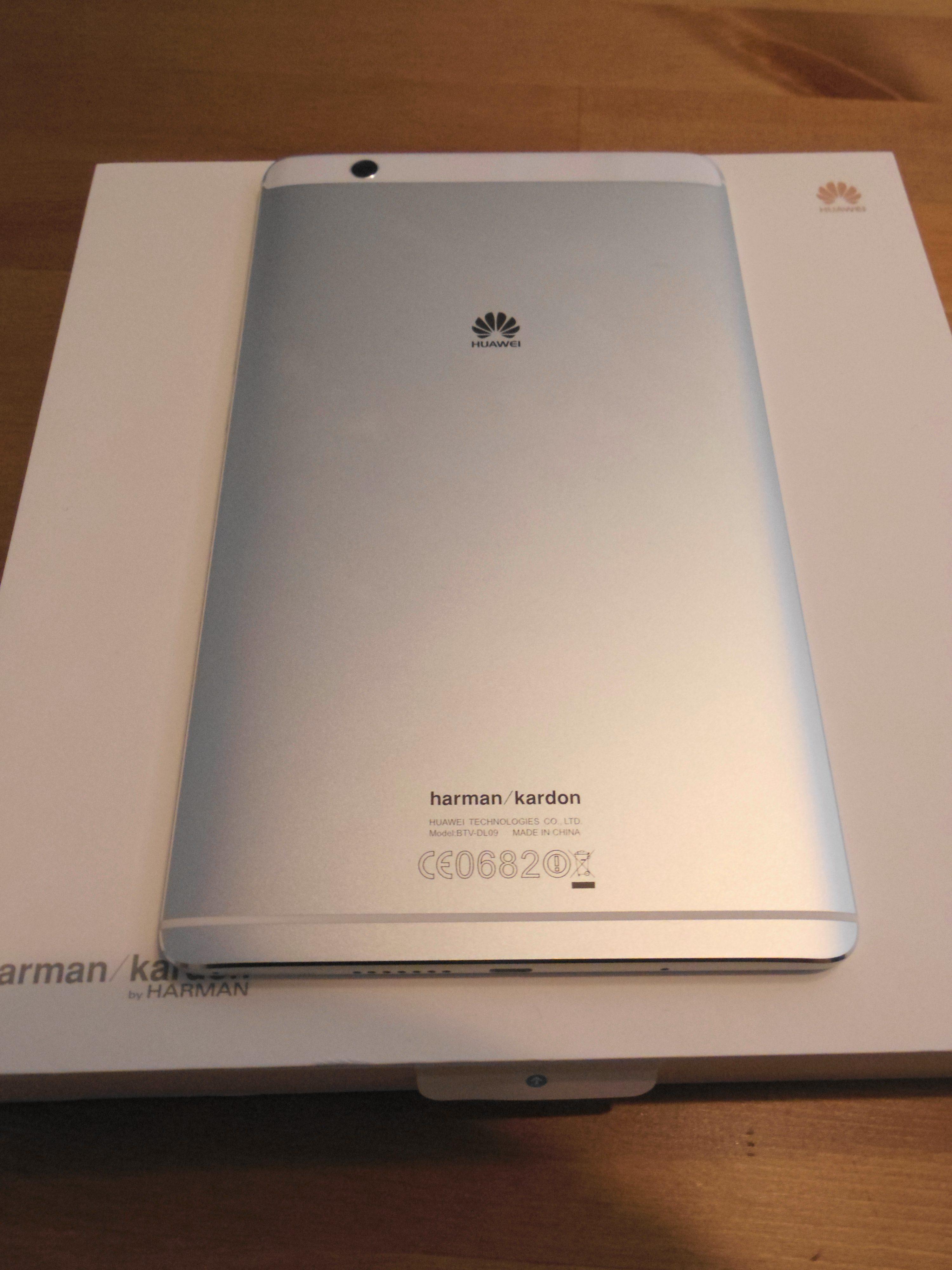 Huawei Mediapad M3を買って2日使ってみました。