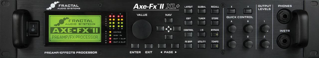 Axe-Fx II XL+とKemper、Helixのざっくりレビュー【アンプシミュレーター】