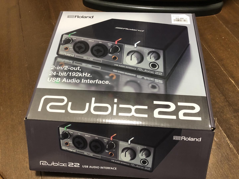 Roland Rubix22 オーディオインターフェースのレビュー