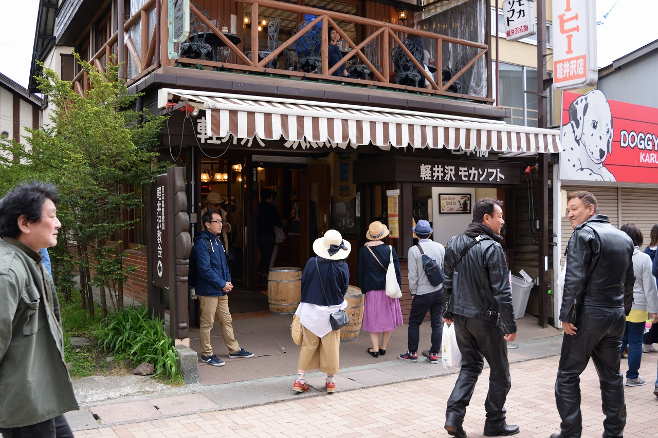 軽井沢観光 白糸の滝~旧軽井沢