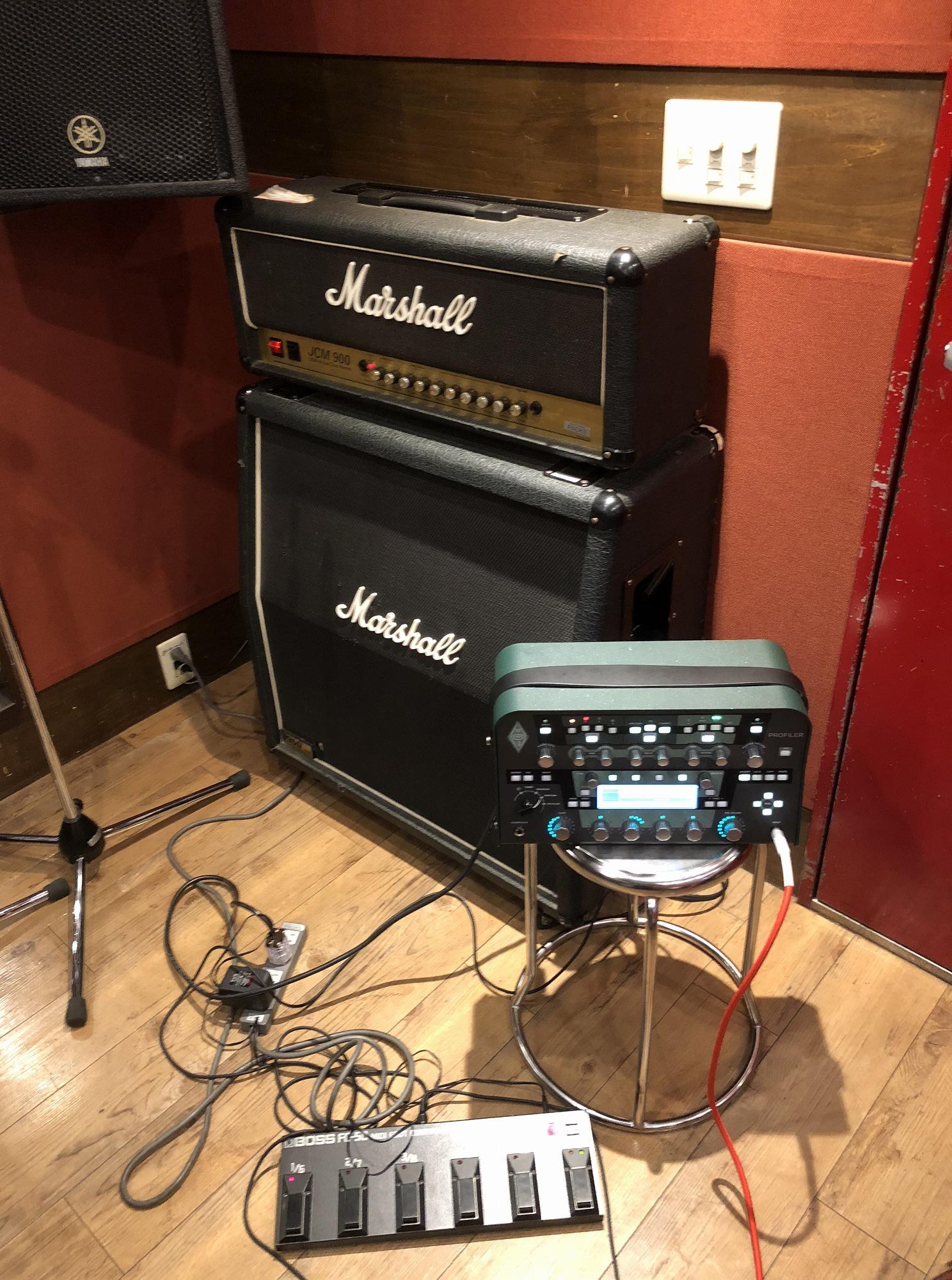 Kemperをスタジオで鳴らしてきました