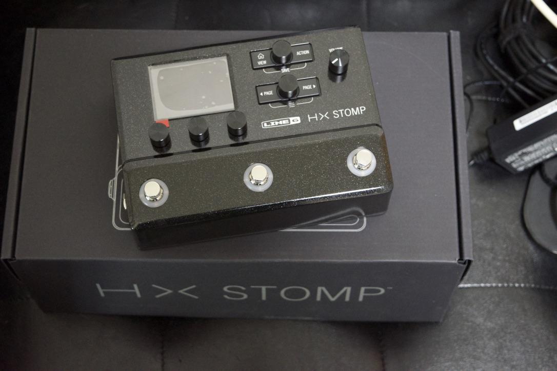 HX Stomp買いました