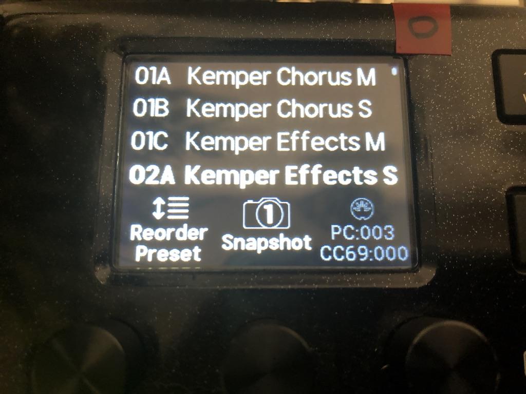 KemperとHX StompをMIDIで連動させる方法