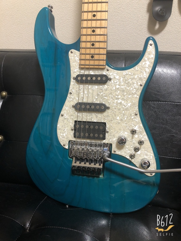 Tom Anderson The Classicのピックアップを交換