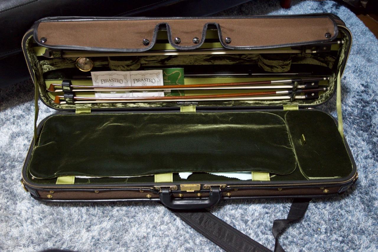 GEWA Jaeger ヴァイオリンケースを一年間使ってみて