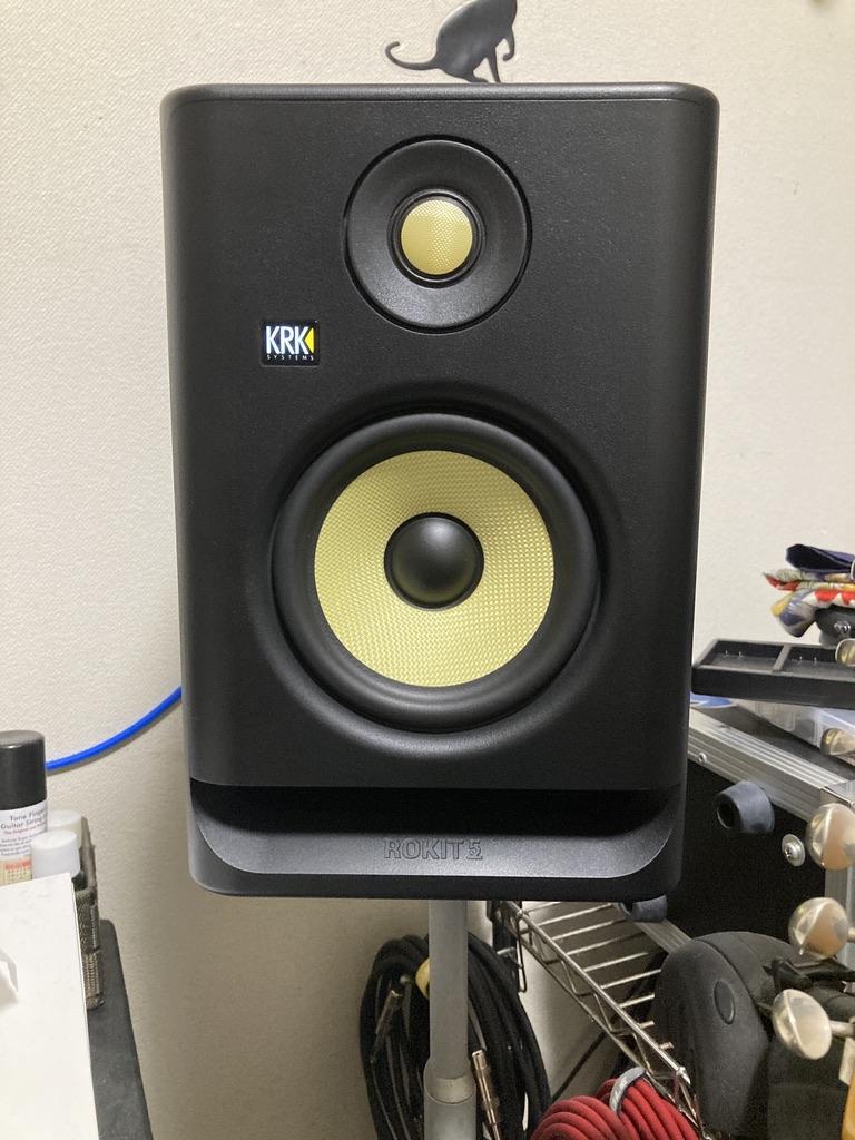 モニタースピーカーをランクアップ!KRK ROKIT5 G4を購入