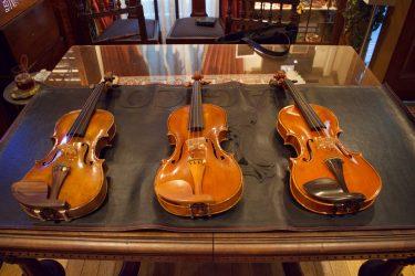 ヴァイオリン銘器弾き比べ!人気弦楽器専門店 IL VIOLINO MAGICO様で素晴らしい楽器を見せてもらいました【音紹介あり】